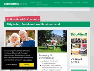 Vorschaubild der Webseite von Sozialstation der Volkssolidarität
