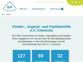 Vorschaubild der Webseite von Lernförderung des KJF e.V.
