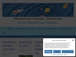 Vorschaubild der Webseite von Klinikschule Chemnitz