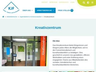 Vorschaubild der Webseite von Kreativzentrum