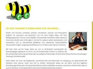 Vorschaubild der Webseite von Tigerente e.V.