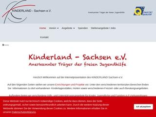 Vorschaubild der Webseite von Kinder-, Jugend- und Familienzentrum Oberland