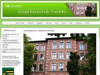 Vorschaubild der Webseite von Josephinenschule