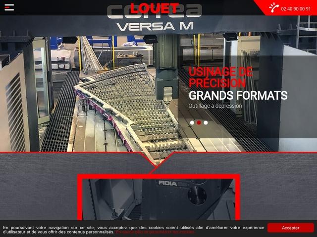 Louet sas - (44) - M.G-Précis - Usinage grandes dimensions