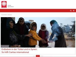 Vorschaubild der Webseite von Caritas Kurberatungsstelle