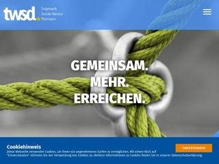 Vorschaubild der Webseite Kindertagesstätte Kinderland