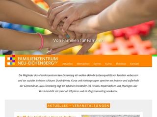 Vorschaubild der Webseite von Familienzentrum Neu Eichenberg