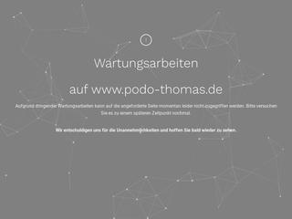 Vorschaubild der Webseite Podologische Praxis Romy Thomas