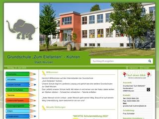 Vorschaubild der Webseite von Grundschule Zum Elefanten