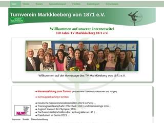 Vorschaubild der Webseite Turnverein Markkleeberg von 1871 e.V.