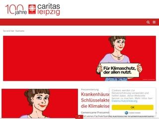 Vorschaubild der Webseite Caritasverband Leipzig e. V. - Sozialstation Leipzig