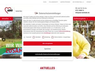 Vorschaubild der Webseite AWO-Kindertagesstätte am Weinbrennerplatz