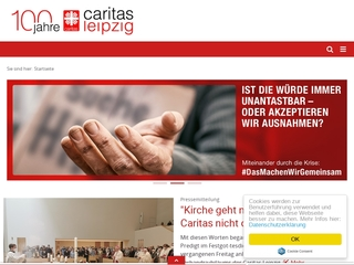 Vorschaubild der Webseite Erziehungs- und Familienberatung der Caritas