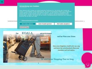 Vorschaubild der Webseite Sanitätshaus Leipzig, Filiale Ost