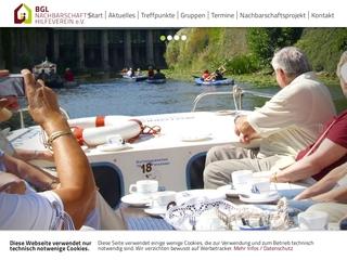 Vorschaubild der Webseite Seniorenbüro Südwest