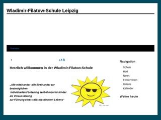 Vorschaubild der Webseite Wladimir-Filatow-Schule - Förderschule für Blinde und Sehbehinderte