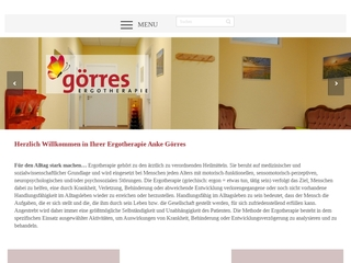 Vorschaubild der Webseite Praxis für Ergotherapie Anke Görres