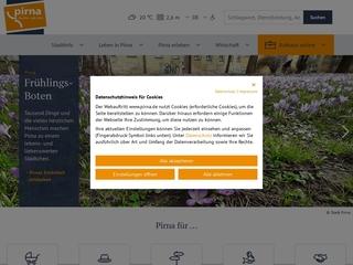 Vorschaubild der Webseite von Obdachloseneinweisung Pirna