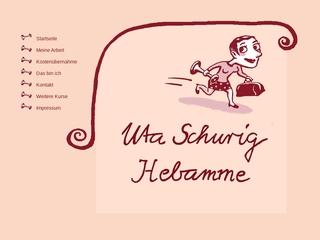 Vorschaubild der Webseite von Hebamme Uta Schurig