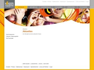 Vorschaubild der Webseite Jugendclub Spinne