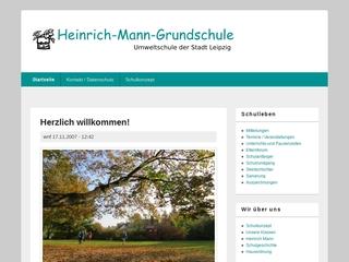 Vorschaubild der Webseite Heinrich-Mann-Grundschule