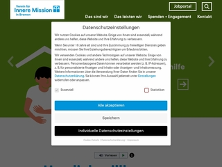 Vorschaubild der Webseite Schuldnerberatung und Insolvenzberatung
