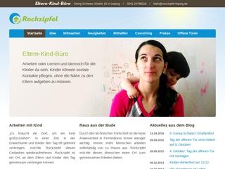 Vorschaubild der Webseite Rockzipfel Eltern-Kind-Büro