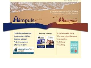 Vorschaubild der Webseite von Impuls Psychotherapie (HPG)