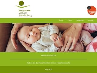 Vorschaubild der Webseite von Hebammenpraxis Dagmar Hundt