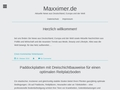 Maxximer Naturkosmetik, Max Haselmayr