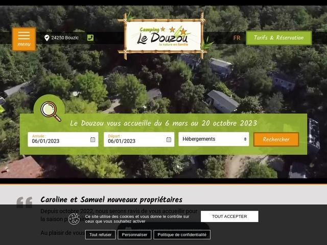Camping le Douzou en Dordogne Périgord Noir