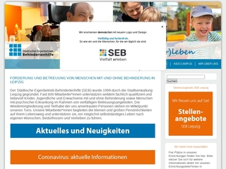 Vorschaubild der Webseite Wohnheim Am Kirschberg