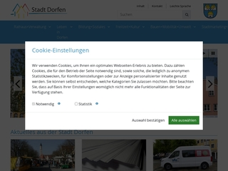 Vorschaubild der Webseite Kinderhaus Oberdorfen