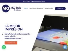 Maquinaria Equipo - MgTech México