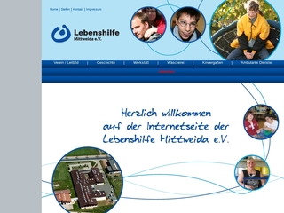 Vorschaubild der Webseite Familienentlastender Dienst für Behinderte und Ihre Angehörigen Mittweida