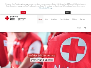 """Vorschaubild der Webseite DRK Seniorenpflegeheim """"Albert Schweitzer"""