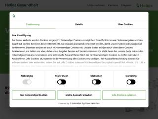 Vorschaubild der Webseite Gynäkologie in Leipzig