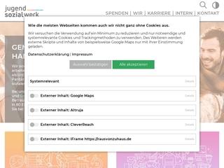 Vorschaubild der Webseite Kindertagesstätte  Am Nordpark
