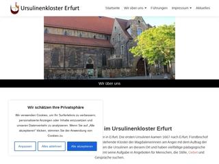 Vorschaubild der Webseite Kath. Kindergarten  St. Ursula