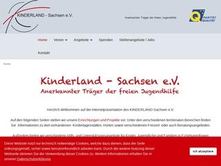 Vorschaubild der Webseite von Kinder-, Jugend- und Familienzentrum