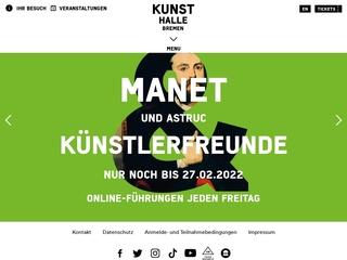 Vorschaubild der Webseite Kunsthalle Bremen