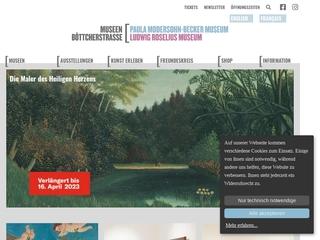 Vorschaubild der Webseite Paula Modersohn-Becker Museum