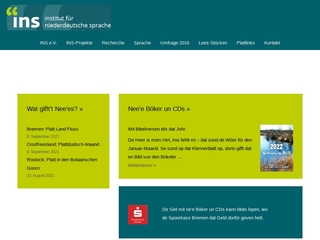 Vorschaubild der Webseite Institut für niederdeutsche Sprache - Bibliothek