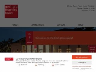 Vorschaubild der Webseite Gerhard-Marcks-Haus