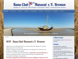 Vorschaubild der Webseite Kanu-Club Hanseat e.V.