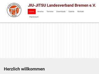 Vorschaubild der Webseite Jiu-Jitsu Landesverband Bremen e.V.