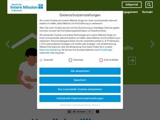 Vorschaubild der Webseite von Wohnheim für psychisch erkrankte Menschen Frida Bücker Haus