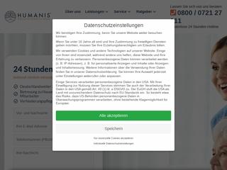 Vorschaubild der Webseite Pflege zuhause in Karlsruhe