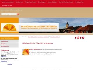 Vorschaubild der Webseite Ev. Kindergarten Pestalozzi