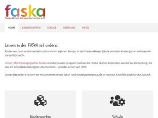 Vorschaubild der Webseite Freier aktiver Kindergarten